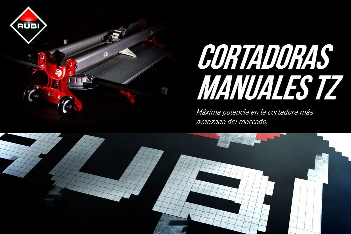 CORTADORA MANUAL RUBI TZ-1300
